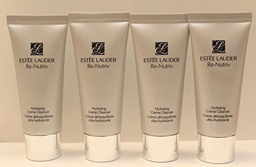 Lot of 4: Estee Lauder Re-Nutriv Hydrating Creme Cleanser -
