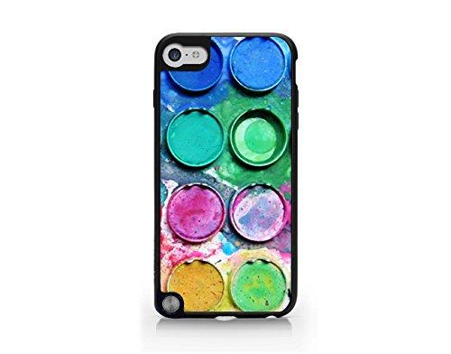 (Paintbox - Paint Palette - Paint Colors - Watercolor Palette - Watercolor Paintbox - Watercolors - iPod Touch Gen 5 Black Case (C) Andre Gift Shop)