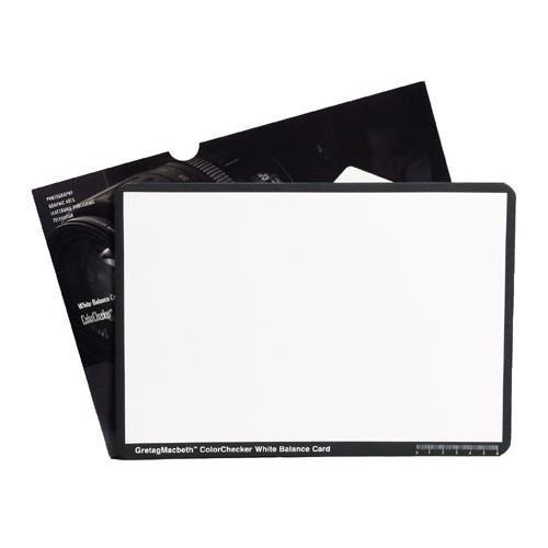 X-Rite ColorChecker White Balance Card (M50101) - Rite Balance