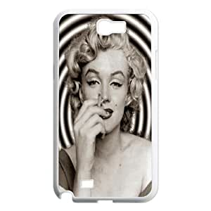DDOUGS I Marilyn Monroe Personalized Cell Phone Case for Samsung Galaxy Note 2 N7100, Best I Marilyn Monroe Case