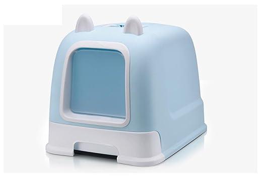CutePet Inodoro para Gato Arenero Grande para Gatos para Gatos Tipo De CajóN Caja De Almacenamiento De Arena Residua MS-005l, Blue: Amazon.es: Deportes y ...
