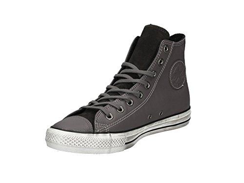 158963C DISTRESSED CTAS nero Grigio HI CONVERSE scarpe sneakers alte unisex 1OWTIqg