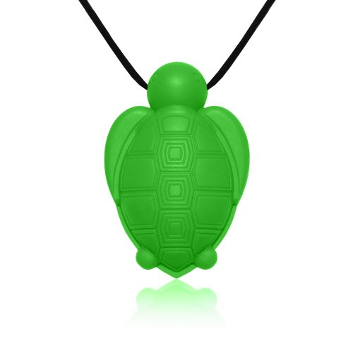 siliconies-turtle-pendant-silicone-necklace-teething-nursing-sensorygreen