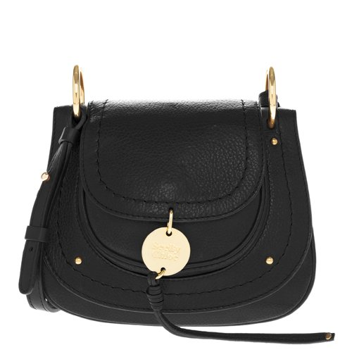 See by Chloe Women's Susie Small Saddle Bag, Black, One Size by See by Chloé