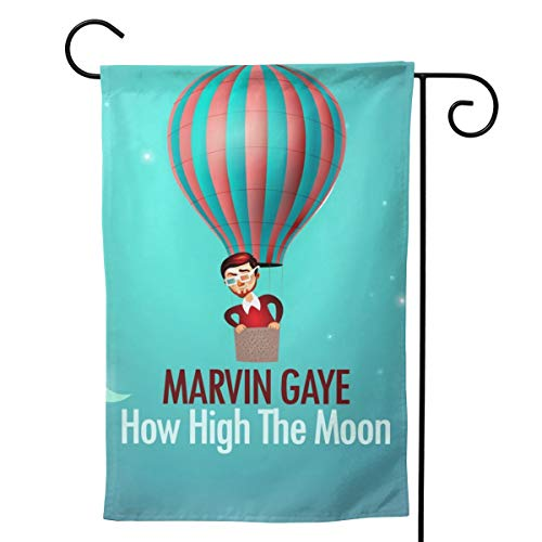 - LIKUNMIN Marvin Gaye Seasonal Garden Flags 27