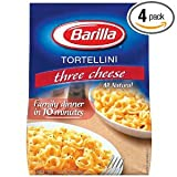 Barilla Three Cheese Tortellini, Family, 12 oz (Pack of 4)