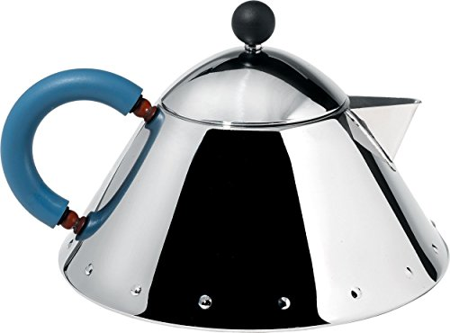 Alessi MG33 Decorative Teapot, Silver