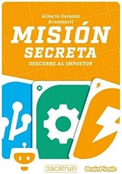 Brain Picnic Mision Secreta - Juego de Mesa [Castellano]: Amazon ...