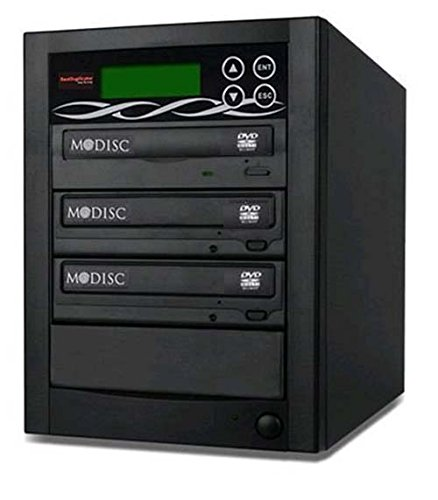 Bestduplicator BD-SMG-2T 2 Target 24x SATA DVD Duplicator with Built-In M-Disc Support Burner (1 to 2) by BestDuplicator