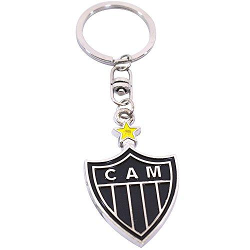 Chaveiro De Metal Com Brasão De Time - Atlético Mineiro