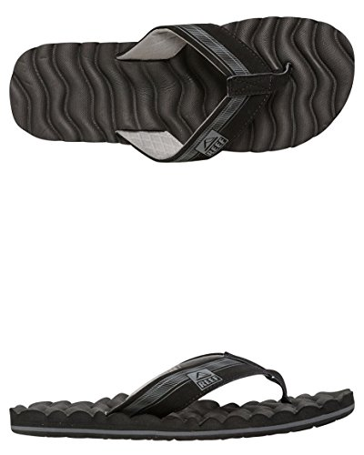 Reef Swellular Cushion 3D Sandals Black Grey