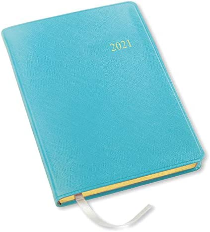 2021 Key West Desk Weekly Planner - Turquoise