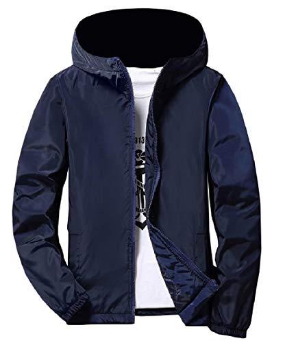 Giacca Xinheo Cappotto Cerniera As1 Vento Stile Addensare Uomini Universitario Outwear A Giacca Solido 6wPqWtRd