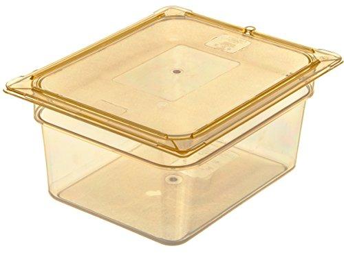 Carlisle 10422B13 High Heat One-Half Size Food Pan, 8.7-quart Capacity, 6'' x 10.38'' x 12.75'', Amber (Case of 6) by Carlisle (Image #4)