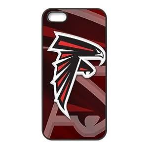 Custom Atlanta Falcons Back Cover Case for iphone 5,5S JN5S-1681 by icecream design