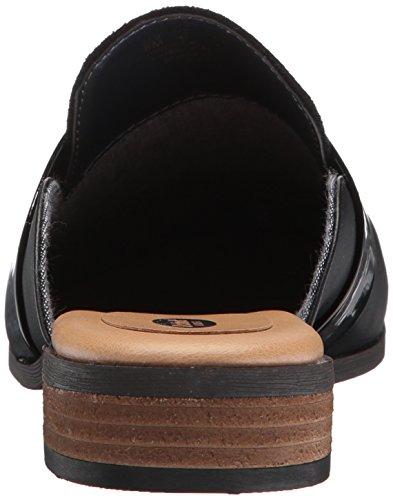 Scholl's Black Mule Microfiber Shoes Dr Black Women's Exact 6dxRqqC