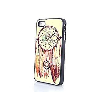 Generic Colorful Dream Catcher iPhone 4/4S PC Skin Matte Hard Cover Protective Case Slim and Light