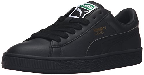 PUMA Women's Basket Classic LFS Wn's Fashion Sneaker, Black, 7.5 M US