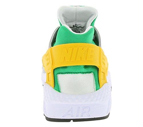 Nike Air Huarache Herre Trænere 318429 Sneakers Sko Klar Grøn / Universitet Guld-ulv Grå Zy6ZRKr