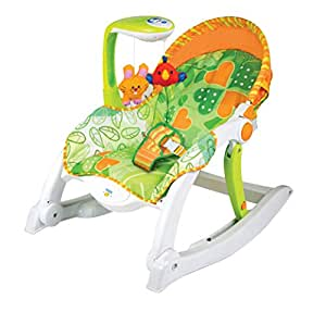 Cadeira De Balanço Winfun Multicor