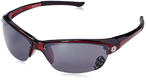 Foster Grant Kids' 21318stw600 Rimless, Red, 65