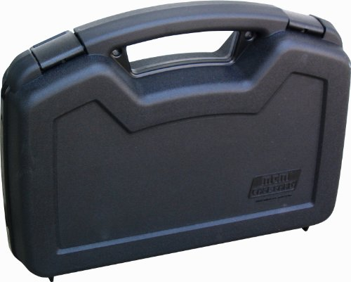 MTM Single Handgun Case for up to 6-Inch Revolver (Black) (Best Handgun Under 300 Dollars)