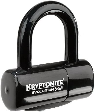 Kryptonite 999607 serie evolución-4 negro 14 mm cerradura ...
