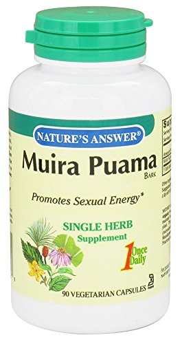 Natures Answer Muira Puama Bark (NATURE'S ANSWER MUIRA-PUAMA BARK 500MG, 90 CAP)