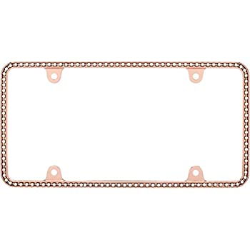 Amazon.com: Cruiser Accessories 15000 Neo Diamondesque License Plate ...