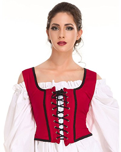 Pirate Wench Corset Bodice