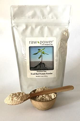 Brazil Nut Protein Powder, Premium, Raw Power Brand 16 oz