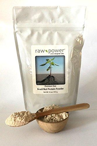 Brazil Nut Protein Powder, Premium, Raw Power Brand (16 oz)