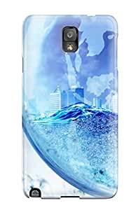 Premium Tpu Artistic Cgi Abstract Cgi Cover Skin For Galaxy Note 3
