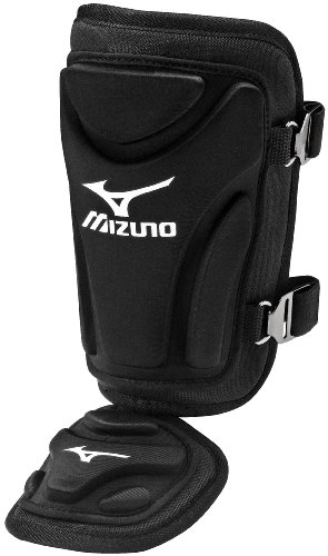 Mizuno Batter's Ankle Guard, Black
