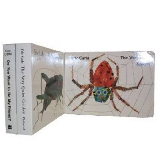 Eric Carle Series Collection: WITH The Very Quiet Cricket AND Do You Want to be My Friend?AND the Very Busy Spider
