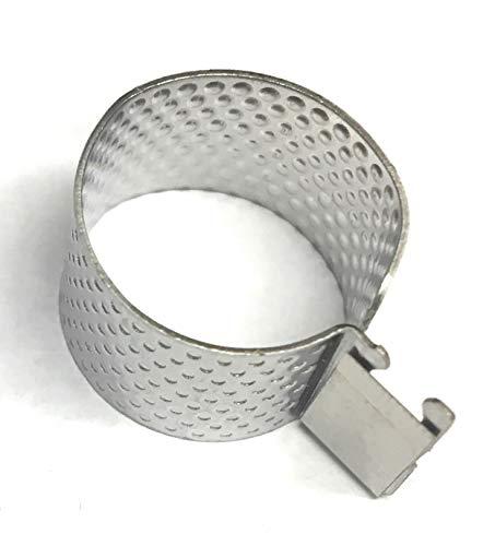 Ez Thimble Thread Cutter, Ring Thread Cutter-Adjustable Metal ()