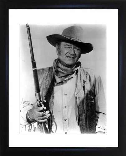 John Wayne Framed Photo