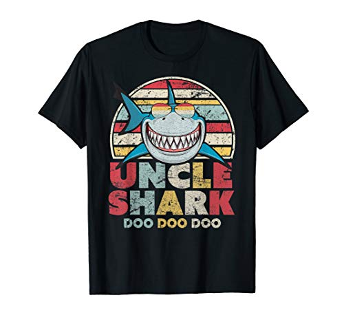 Uncle Shark T-Shirt. Doo Doo Doo Tee.
