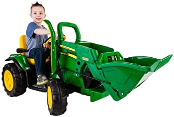 Peg Perego John Deere Ground Loader 12-Volt Ride-On