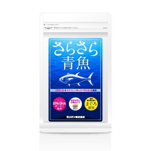 さらさら青魚(90粒入り)×6袋セット[高濃度EPADHAサプリメント] B01B7033LE
