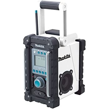 Makita BMR100W 18-Volt LXT Lithium-Ion Cordless FM/AM Job Site Radio