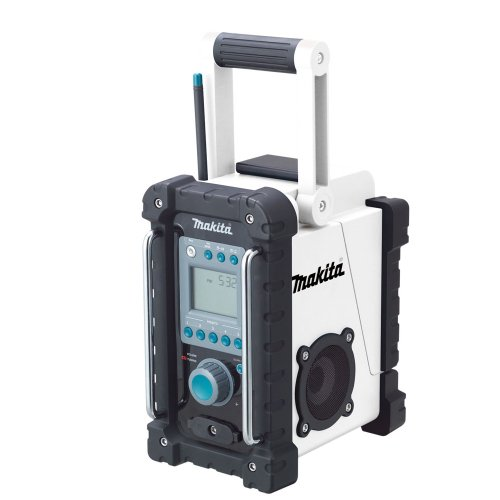 - Makita BMR100W 18-Volt LXT Lithium-Ion Cordless FM/AM Job Site Radio (Tool Only, No Battery) (Discontinued by Manufacturer)