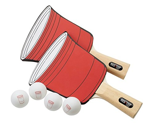 Red Cup Living Table Tennis 2 Player Set