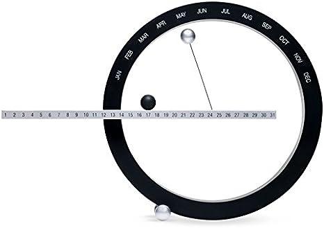 MoMA Perpetual Calendar Design Desk Calendar Acrylic Grey