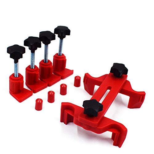 KKmoon Cam Clamp Set, Camshaft Engine Timing Locking Tool, Sprocket Gear Locking Kit, Universal Car Repair Tool
