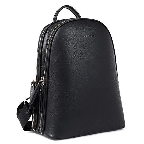 WESTBRONCO Backpack Purse for Women Vegan Leather Fashion Women Backpack Ladies Travel Zipper Pocket Shoulder Bag