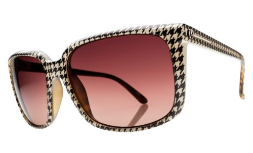 Electric Visual Venice Sunglasses in Houndstooth/BrownGradient sz:One Size