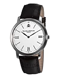 Baume Mercier Men's Classima Executives Dial Watch White A8849