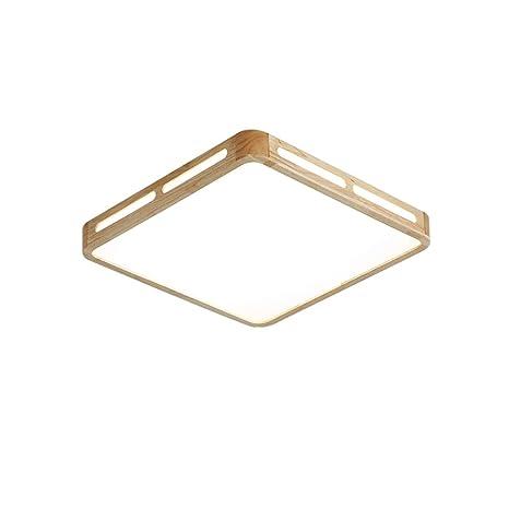 Amazon.com: Sheen - Lámpara de techo cuadrada de madera ...