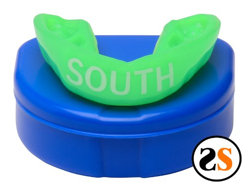 South High School Custom Mouthguard by SportingSmiles